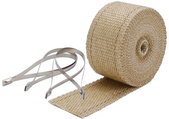 "DEI Exhaust Wrap Kit 2.00"" x 25 Foot Long- Tan"