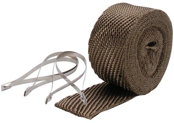 "DEI Exhaust Wrap Kit 2.00"" x 25 Foot Long- Titanium"