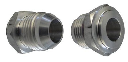 -10 AN Male STEEL Weld Bung