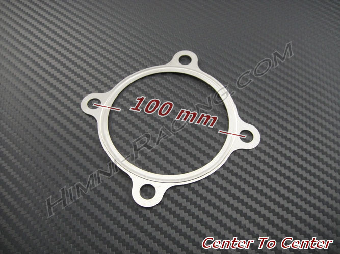T3 GT 4 Bolt Turbo Exhaust Downpipe Discharge Gasket - 3.00""