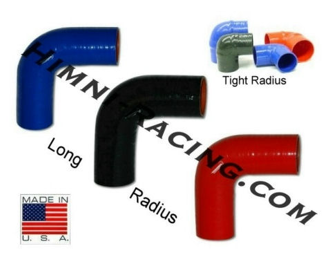 "HR 2.75"" 90 Degree Turbo Silicone Coupler/Elbow"