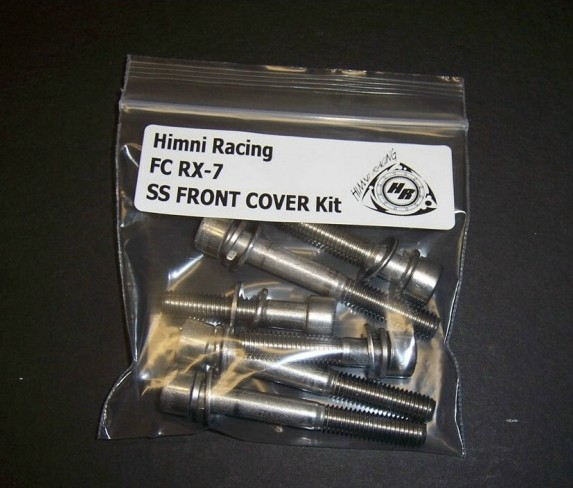 Himni SS Front Cover Nut & Bolt Kit, 86-91 Mazda RX-7