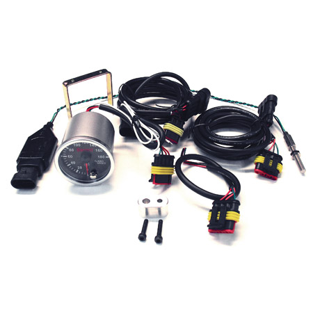 Garrett Turbocharger Turbo Speed Sensor Street Kit w/ Gauge