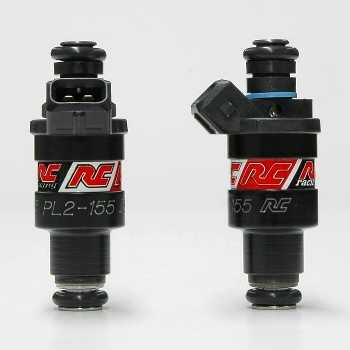 RC Engineering 155cc Hi-Flow Fuel Injectors (Low Ohm, 15 LB/Hour
