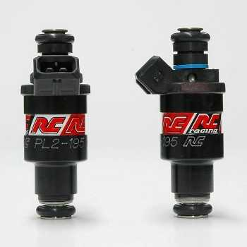 RC Engineering 195cc Hi-Flow Fuel Injectors (Low Ohm, 19 LB/Hour