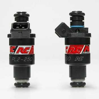 RC Engineering 250cc Hi-Flow Fuel Injectors (Low Ohm, 24 LB/Hour