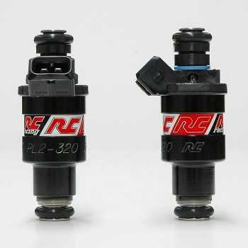 RC Engineering 320cc Hi-Flow Fuel Injectors (Low Ohm, 30 LB/Hour