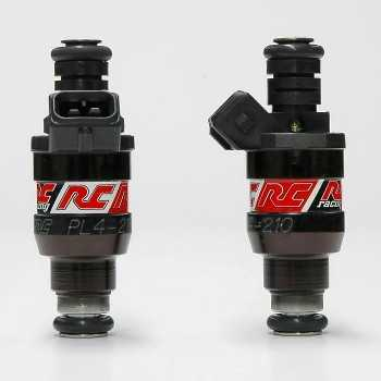 RC Engineering 210cc Hi-Flow Fuel Injectors (Low Ohm, 20 LB/Hour