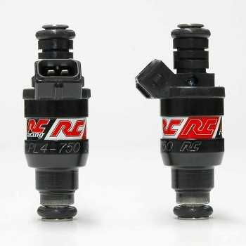 RC Engineering 750cc BOSCH Fuel Injectors (Low Ohm, 71 LB/Hour)