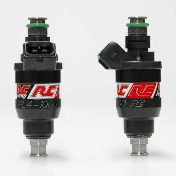 RC Engineering 1000cc DENSO Fuel Injectors (Low Ohm, 95 LB/Hour)