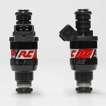 RC Engineering 1000cc BOSCH Fuel Injectors (Low Ohm, 95 LB/Hour)
