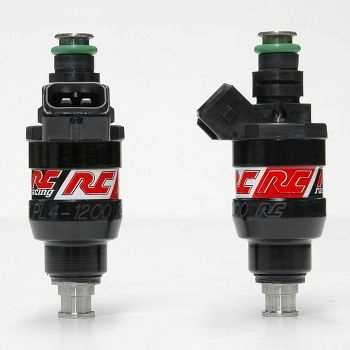 RC Engineering 1200cc DENSO Fuel Injectors (Low Ohm, 114 LB/Hour