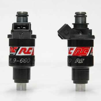 RC Engineering 660cc JAPAN Fuel Injectors (Low Ohm, 52 LB/Hour)