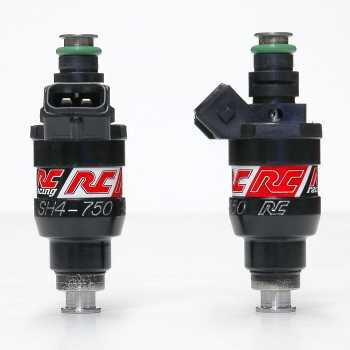 RC Engineering 750cc Saturated Fuel Injectors Honda, Toyota, EVO