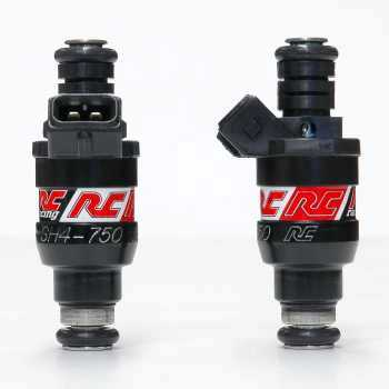 RC Engineering 750cc DENSO Saturated Fuel Injectors (High Ohm)