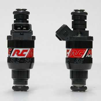 RC Engineering 195cc Saturated Fuel Injectors (High Ohm, 19 LB)