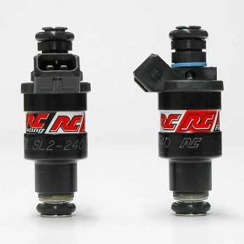 RC Engineering 240cc Saturated Fuel Injectors (High Ohm, 24 LB)