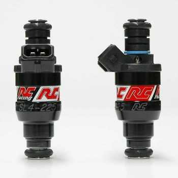 RC Engineering 225cc Saturated Fuel Injectors (High Ohm, 21 LB)