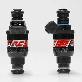 RC Engineering 270cc Saturated Fuel Injectors (High Ohm, 26 LB)