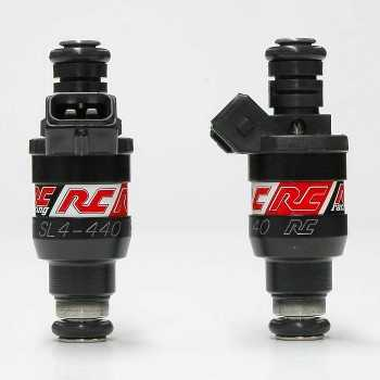 RC Engineering 440cc Saturated Fuel Injectors (High Ohm, 42 LB)