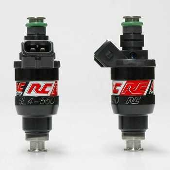 RC Engineering 550cc DENSO Saturated Fuel Injectors (High Ohm)