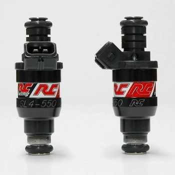 RC Engineering 550cc Saturated Fuel Injectors (High Ohm, 52 LB)