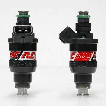 RC Engineering 650cc DENSO Saturated Fuel Injectors (High Ohm)