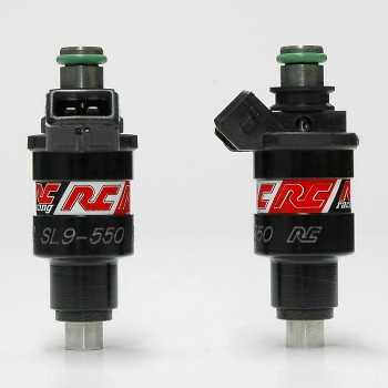 RC Engineering 550cc Japan Saturated Fuel Injectors (High Ohm)