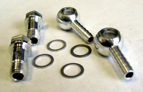TiAL Banjo Air Fitting Set - Wastegates & BOV