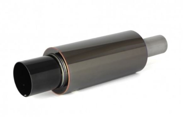 Apexi N1 Metal Universal Muffler TURBO - Black 80mm