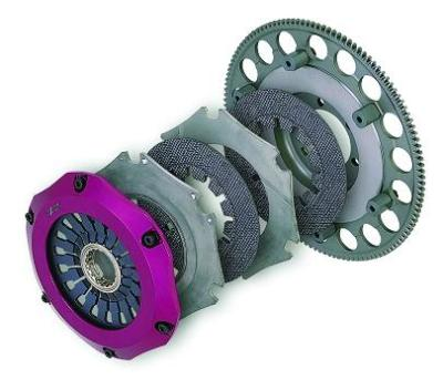 Exedy Twin Disc Carbon-R Clutch Kit (Stage6) 93-95 Mazda FD RX-7