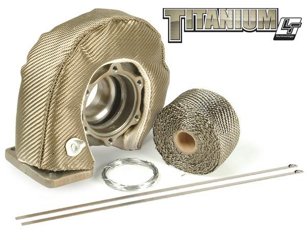 DEI Titanium Turbo Shield Kit, T25/T28 Turbine Blanket