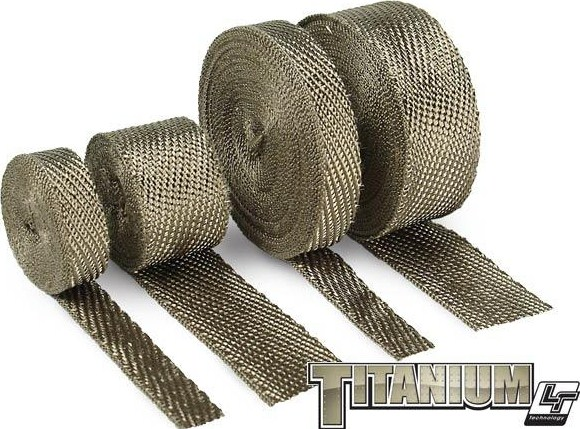 "2.00"" DEI Titanium Exhaust/Header Heat Wrap:15'-100' Foot"