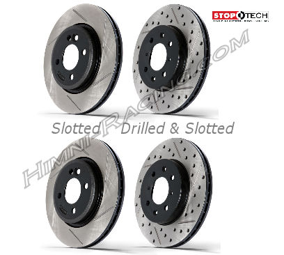 StopTech Brake Rotors Rear 5 LUG SOLID Mazda FC RX7