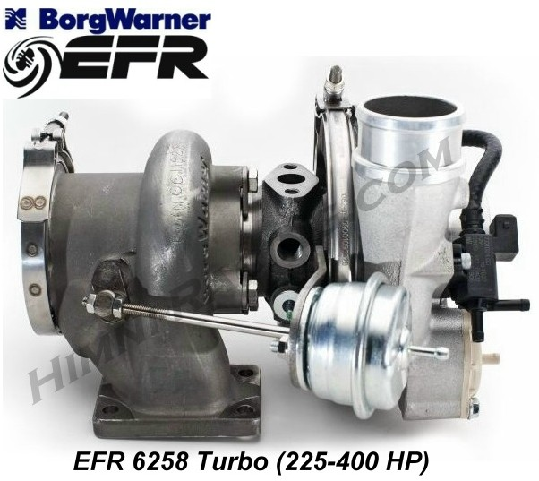 Borg Warner EFR 6258 Turbo (225-400 HP)
