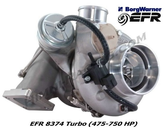 Borg Warner EFR 8374 Turbo (475-750 HP)