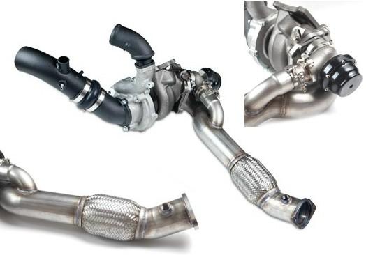 GT35R EWG Twinscroll 600HP Bolt-on Turbo Kit EVO X [VEVO-027