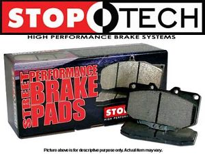 StopTech Brake Pads Front 93-01 Mazda FD RX7