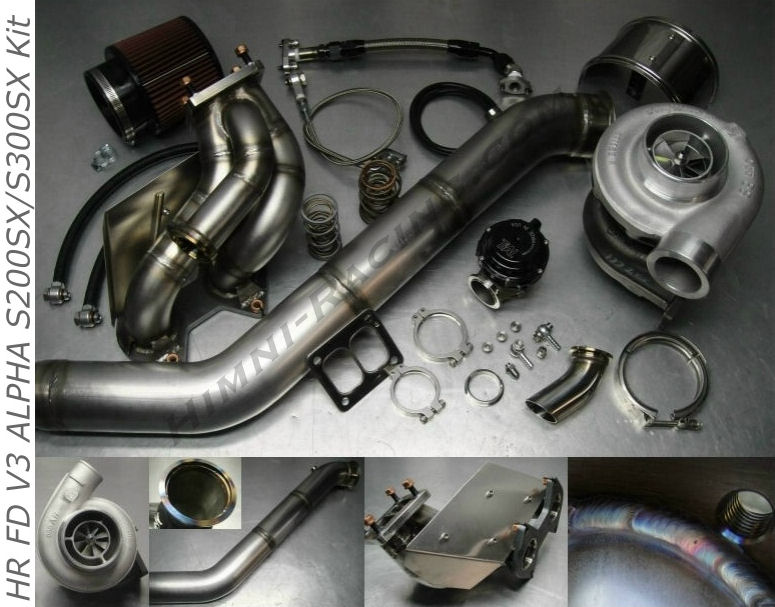 #6 FD V3 ALPHA 93-95 Mazda RX-7 S360 Single Turbo Kit FD3S