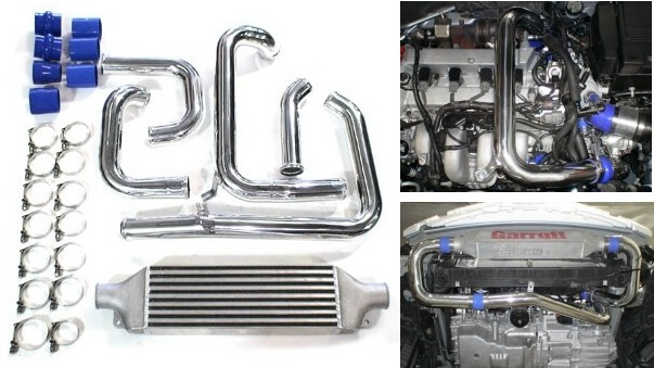 Front Mount Intercooler Kit for Mazdaspeed 3 - Garrett I/C ...