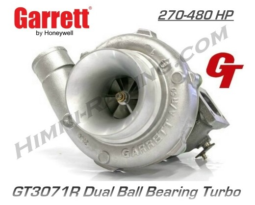 Garrett GT3071R Ball Bearing Turbo (480 HP)