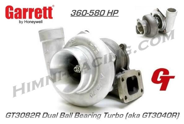 Garrett GT3082R Ball Bearing Turbo - GT3040R (580 HP) Garrett