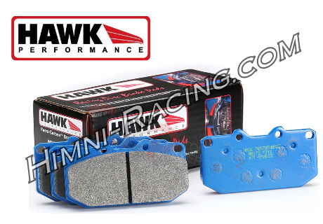 Hawk Blue 9012 Brake Pads Front 4 Piston 86-91 Mazda FC RX7