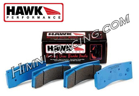 Hawk Blue 9012 Brake Pads Rear ALL 86-91 Mazda FC RX7