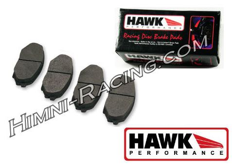Hawk HP Plus Brake Pads Rear ALL 86-91 Mazda FC RX7