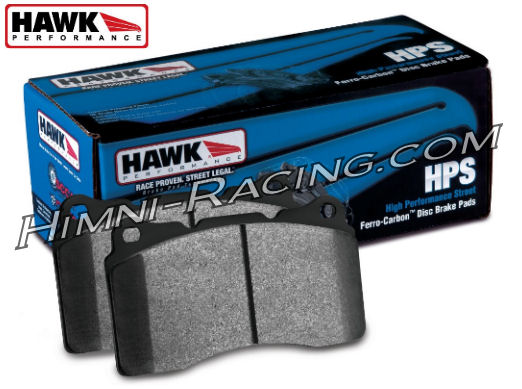 Hawk HPS Brake Pads Front 4 Piston 86-91 Mazda FC RX7