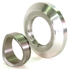 HKS SSQV Weld-on Mounting Flange/Adapter - ALUMINUM