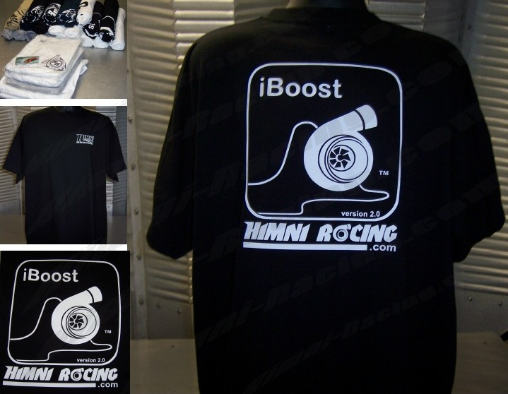 Himni Racing ' iBoost ' Turbo T-Shirt-SOLD OUT