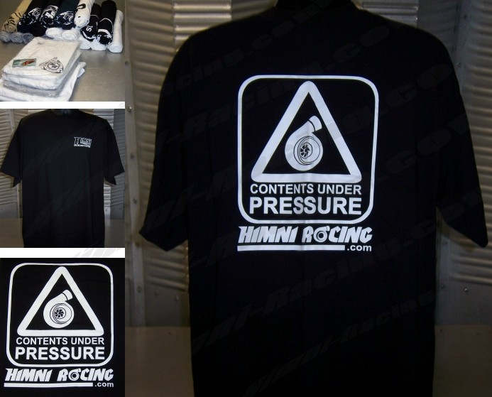 Himni Racing 'Under Pressure' Turbo T-Shirt-SOLD OUT