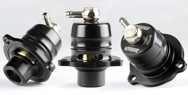 TurboSmart Kompact Shortie BOV - Dual Port